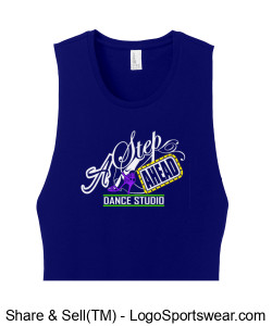 District Women's Fitted V.I.T. Festival Tank Design Zoom
